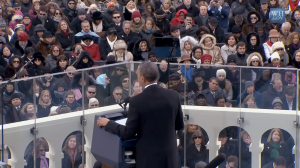 Obama addresses the nation, touching on many of the same themes with which Hamilton ends Federalist 11